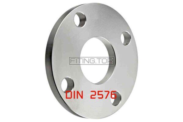 Фланец нержавеющий Ру 10 DIN 2576 AISI 304