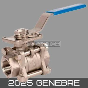 купить кран шаровой нержавеющий AISI 316 2025 GENEBRE