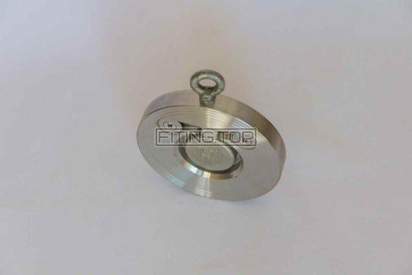 купить Клапан обратный межфланцевый нержавеющий хлопушка AISI 304