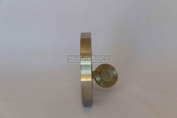 цена Клапан обратный межфланцевый нержавеющий хлопушка AISI 304