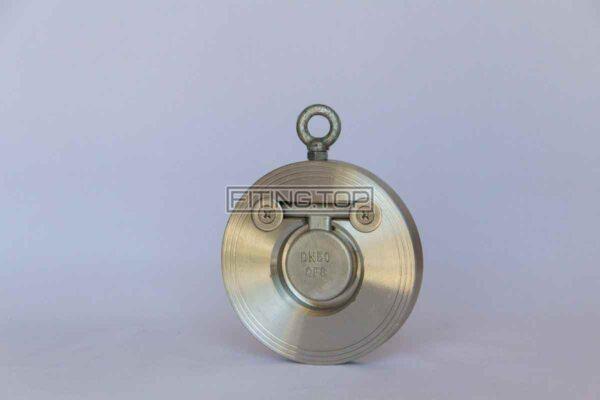 цена Клапан обратный межфланцевый нержавеющий хлопушка AISI 304 Киев