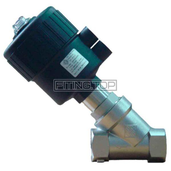 Клапан нержавеющий с пневмоприводом нормально закрытый/открытый
