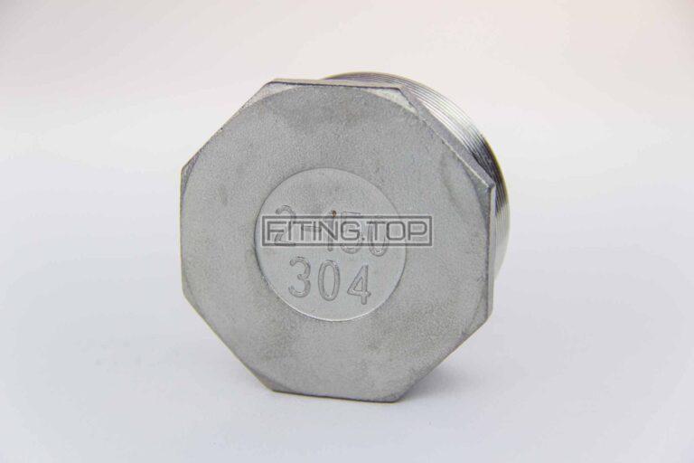 купить заглушка нержавеющая с наружной резьбой aisi 304