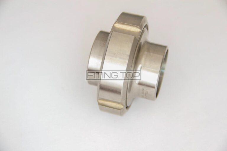 Резьбовое соединение приварное комплект 2012 из нержавеющей стали AISI 304